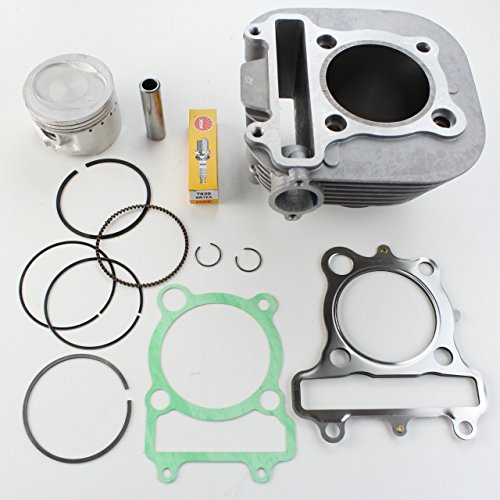 NICHE Cylinder Piston Gasket Kit for Yamaha Bear Tracker 250 - Bear Big Piston