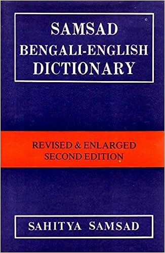 Buy Samsad Bengali-English Dictionary Book Online at Low