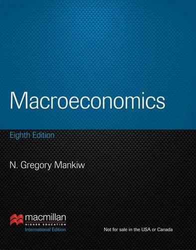 Macroeconomics N Gregory Mankiw