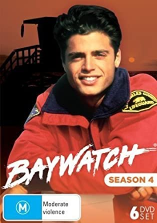 Baywatch Season 4 Dvd Amazoncouk David Hasselhoff