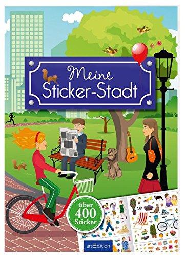 Meine Sticker-Stadt (Mein Stickerbuch)