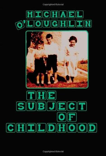 The Subject of Childhood (Rethinking Childhood)