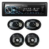 """Pioneer MXT-X3869BT Package: In-Dash Digital Media Receiver + (2) 6.5"""" 2 Way Speaker + (2) 6""""x9"""" 3-Way Speaker"""