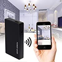 ALON 1080P HD WIFI Spy Hidden Camera,Multifunctional 3000mAh Mobile Power Bank Hidden Security Cam,Nanny Cams with Night Vision,Motion Detective Mini DV,Support SD Card Video Recording