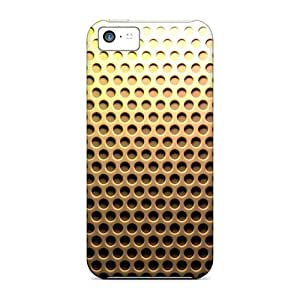 Excellent Design Yellow Honeycomb Pegboard Phone Case For Iphone 5c Premium Tpu Case