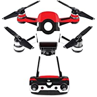Skin for DJI Spark Mini Drone Combo - Battle Ball| MightySkins Protective, Durable, and Unique Vinyl Decal wrap cover | Easy To Apply, Remove, and Change Styles | Made in the USA