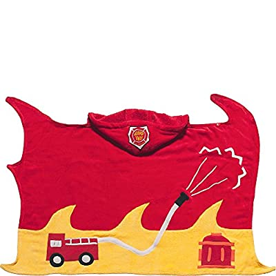 Kidorable Boys 2-7 Fireman Towel by Kidorable