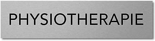modern und robust Interluxe Türschild Verkauf Schild aus Aluminium 200x50x3mm