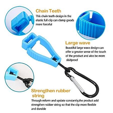 Glove Clip Holder Hanger Guard Labor Work Clamp Grabber Catcher Safety n JT