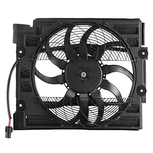 - SucceBuy Cooling Fan Fit For BMW Condenser Cooling Fan Assembly E39 528 540I 97 98 Radiator Cooling Fan For Car For 64548380780 CE