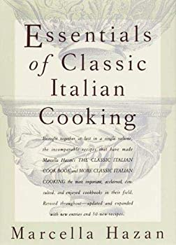 Hardcover The Essentials of Classic Italian Cooking Book