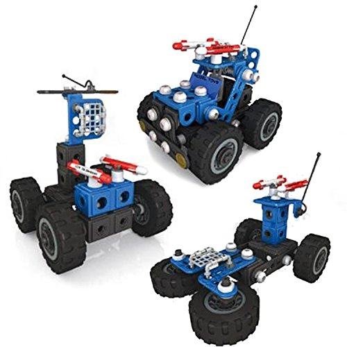 Building Blocks Toys Sets - 158 Pieces Building Blocks for Toddlers,Intellective STEM 3 in 1 Building Bricks Cars