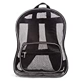 JumpOff Jo See Me Lightweight Mesh Backpack for Travel or School, Reflective