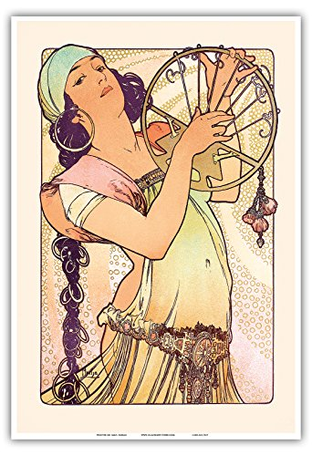 Pacifica Island Art Gypsy - Art Nouveau - La Belle Époque-