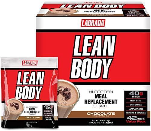 Labrada Lean Body MRP, Schokolade - 42 Pakete