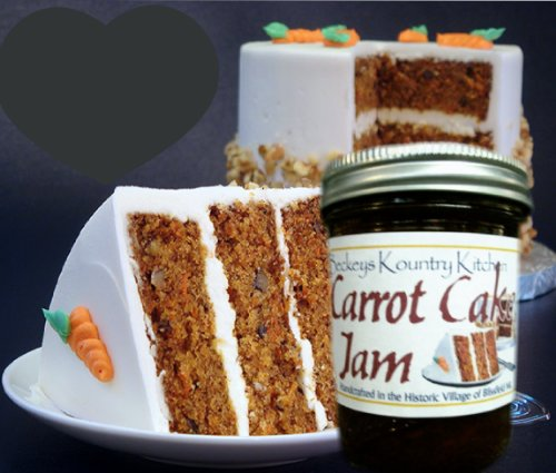 Jam and Jelly. Carrot Cake Jam. Homemade jams and jellies Holiday Gift Gourmet Jam Gift Idea Artisan Jam gift for Mom