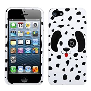 MYBAT Dotted Dalmatian Phone Protector Cover for APPLE iPhone 5