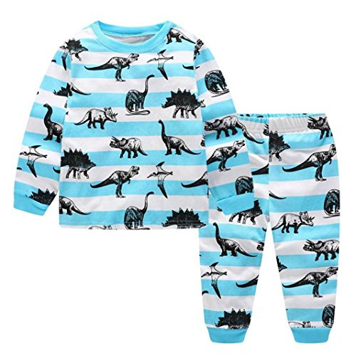 Little Kids Dinosaur Pajamas Sets,Jchen(TM) New Style! Toddler