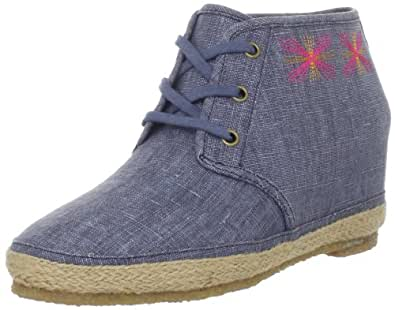 80%20 Women's Eliotte Closed-Toe Espadrille,Indigo,6.5 M US