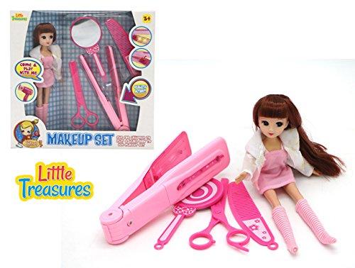 Grooming accessories mirror scissors curler product image