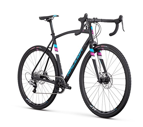 Raleigh Bikes RX 2.0 Cyclocross Bike, Black, 54cm/Medium