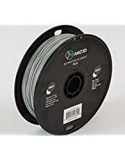 1.75mm Grey PLA 3D Printer Filament - 1kg Spool (2.2 lbs) - Dimensional Accuracy +/- 0.03mm