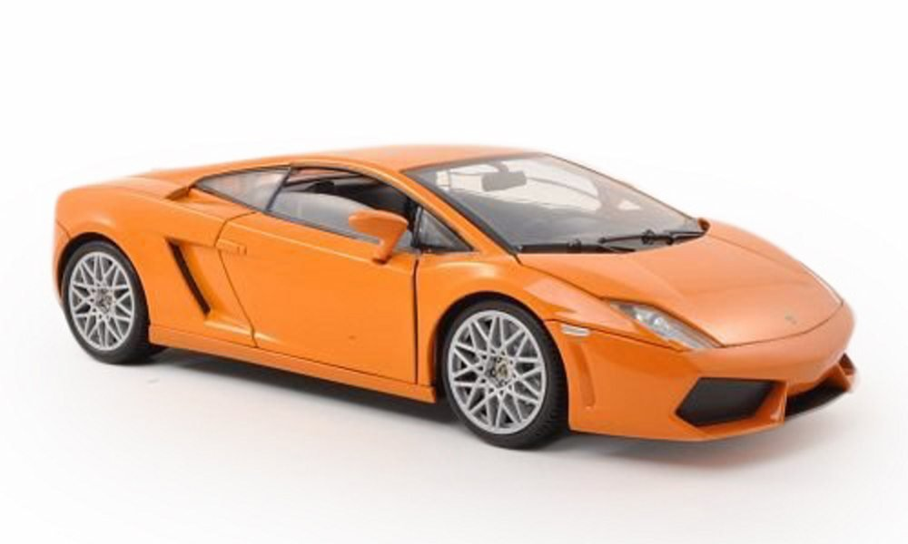 Amazon Com Motor Max Lamborghini Gallardo Lp560 4 Orange 79152 1