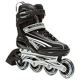 ski blades boots - 5th Element Panther XT Mens Inline Skates Black-Gray 11.0
