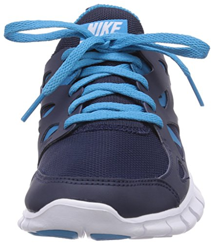 2 Run gs blue Bleu white midnight Enfant Navy Lagoon Running Free 406 Mixte Nike De Chaussures 5EqSwpF