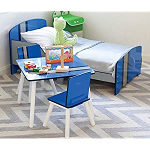 P'Kolino Classically Cool Toddler Bed, Racing Stripes
