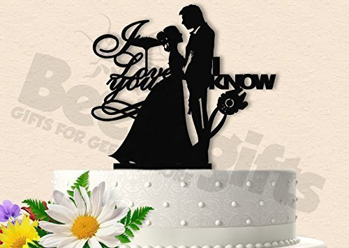 Amazoncom Star Wars I Love You I Know Inspired Wedding Cake