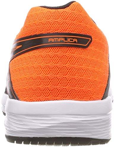 da uomo corsa Scarpe shocking multicolore Asics arancio nero Amplica 002 da EXqABw