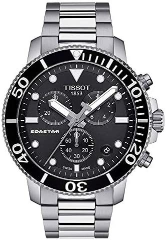 Tissot T120 417 11 051 00 Seastar Chronograph Watch product image