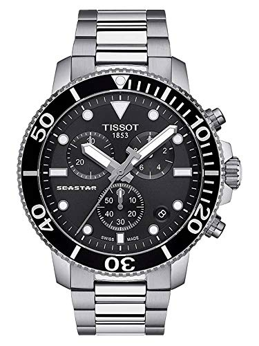 Tissot T120.417.11.051.00 Seastar 1000 Chronograph Men's Watch from Tissot
