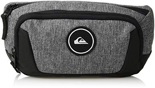 (Quiksilver Men's JUNGLER II Fanny Pack Waist Bag, light grey heather, 1SZ)