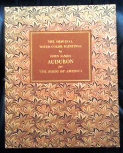 Watercolor Original Painting - The Original Water-Color Paintings by John James Audubon for the Birds of America (2 Volume Box Set)