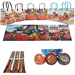Disney Cars Party Favor Set - 6 Packs (42 Pcs)