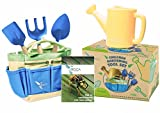 Gardening Tools for Kids with STEM Early Learning Guide by ROCA Toys. Garden Tool Toys, Outdoor Toys and Learning Toys. Cute Garden Bag.