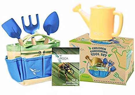 Gardening Tools For Kids With STEM Early Learning Guide By ROCA Toys. Garden  Tool Toys
