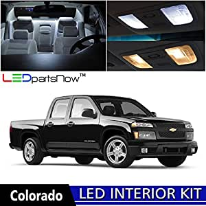 ledpartsnow 2004 2012 chevy colorado led interior lights accessories replacement. Black Bedroom Furniture Sets. Home Design Ideas