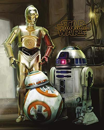 Star Wars Episode VII Mini Poster Pack Droids 40 x 50 cm (5) Pyramid Posters ()