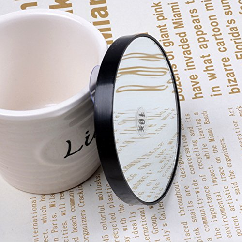 Buy 20x magnifying glass mirror with suction cups