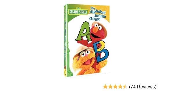 Amazon com: Sesame Street - The Alphabet Jungle Game by