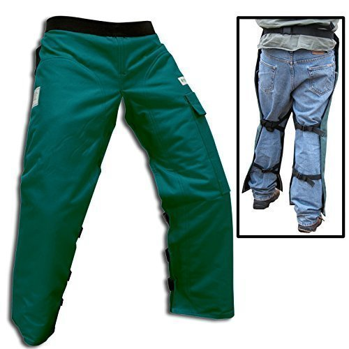 - Forester Chainsaw Safety Chaps with Pocket, Apron Style (Long 40