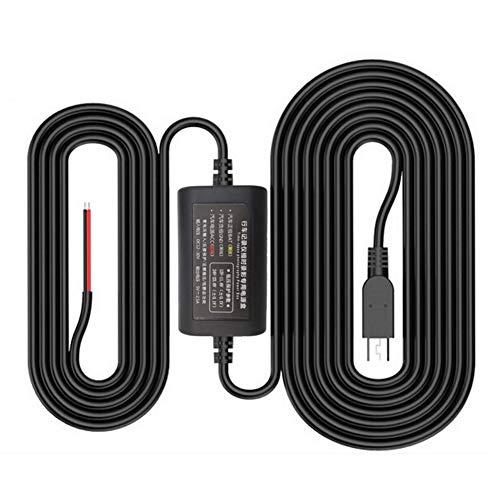 (Shentesel Driving Recorder Step-Down Line 12V/24V to 5V Parking Monitoring Camera Cable)