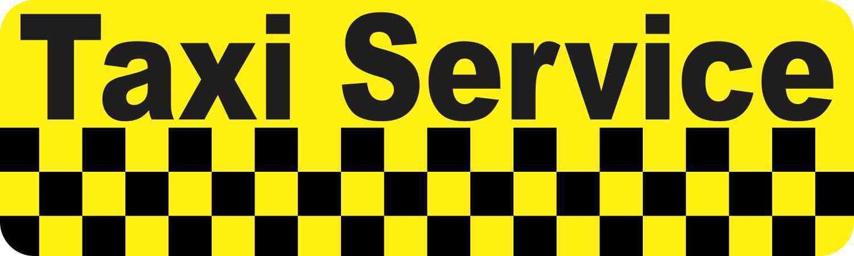 Amazon.com: 10 en x 3 en servicio de taxi Imán por ...