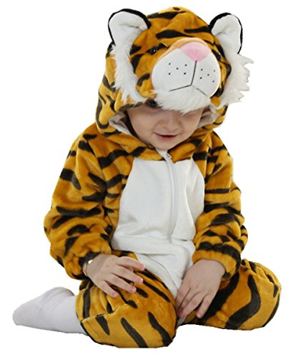Joyhy Baby Girls Boys Toddlers Romper Cute Animal Costume Outfit Tiger 120]()
