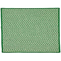 Outdoor Houndstooth Tweed OT67R024X036S Rugs, 2 x 3, Grass Green