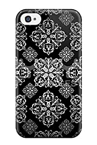 New Fashion Premium Tpu Case Cover For Iphone 4/4s - Silver