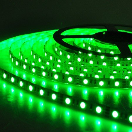 12 Volt Green Led Light Strips Waterproof - 6